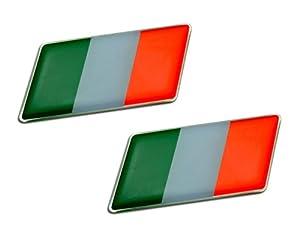 italy flag emblem badge nameplate decal rare for aprilia benelli
