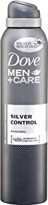 Dove Men+Care Silver Control Aerosol Anti-Perspirant Deodorant - 250 ml