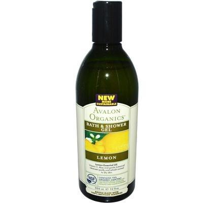 Avalon Organics Bath And Shower Gel Lemon - 12 Fl Oz