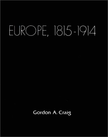 Europe: 1815-1914