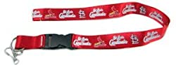 St. Louis Cardinals Breakaway Lanyard with Key Ring