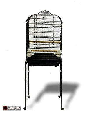 Large Open Top Torenzo Bird Cage With Table Stand