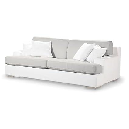 4-tlg. Sofa-Bezug-Set Etna Farbe: Naturweiß