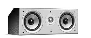 Polk Audio Monitor Series CS1 Center Channel Speaker (Single, Black)