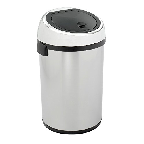 Safco Model Kazaam Can, Stainless Steel, 17 Gallons (9763)