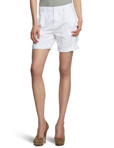 Gas Jisi Short Pantaloni Corti, Donna, Bianco (WHITE 0001), Taglia produttore: 25