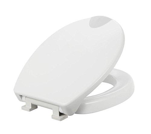 TrendLine WC-Sitz Komfort Plus Duroplast, 5 cm Sitzerhöhung, Absenkautomatik