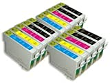 Odyssey Supplies - Superior quality compatible ink cartridges for Epson stylus sx200, sx215, D120, D78, D92, DX4000, DX4050, DX4400, DX4450, Office B40W, BX300F, BX310FN, BX600FW, BX610FW, stylus S20, S21, SX100, SX105, SX110, SX115, SX200, SX205, SX210,
