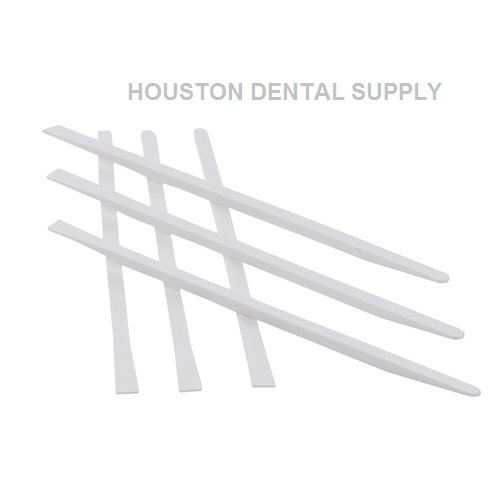HDS Dental Disposables Plastic Mixing Spatulas for Bonding, Composites and Cements 100 Pcs/Bag. US SELLER HOUSTON DENTAL SUPPLY (Cement Mixing compare prices)