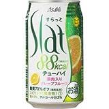 アサヒ SLat(すらっと)果肉入りグレープフルーツ 350ml×24缶