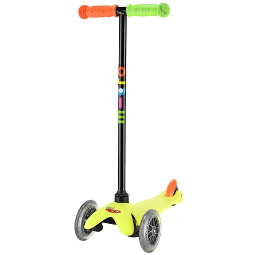 Mini Micro Scooter Neon Yellow