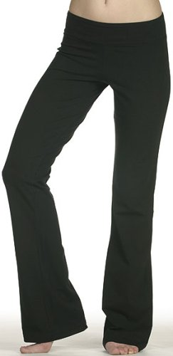 Cotton Spandex Full Length Dance Workout Pant