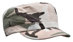 1156 Womens Vintage Subdued Pink Camo Cap