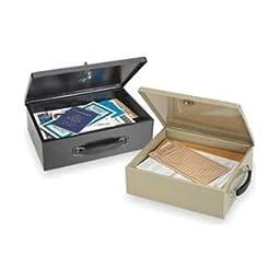 Security Box, Black, 12-3/4x8-1/4x4
