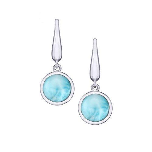 MarahLago - Larimar Liquido Earrings