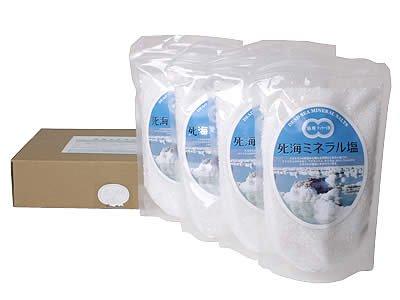 死海ミネラル塩2kg(500g4)
