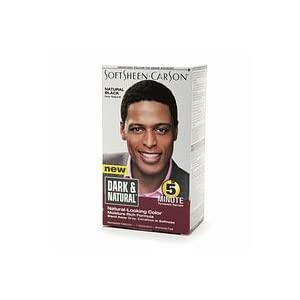 Hair   Black  on Dark And Lovely Men Hair Dye Color Natural Black  Amazon Co Uk