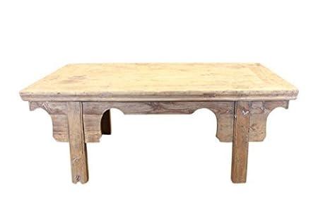 Asia Cina Tavolino da salotto antico circa 120 Anni Legno naturale