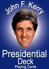 Kerry for President Election 2004 Playing Card set - 1