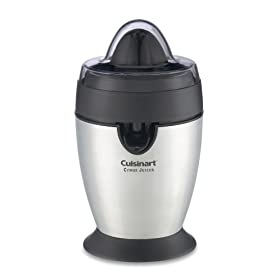 Factory Reconditioned Cuisinart CCJ-100FR Citrus Juicer, Brushed Stainless Steel