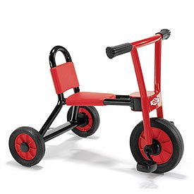 Children's Factory CF930-530 Locomotion Small Tricycle, Red/Black