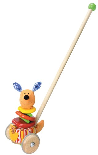 Wonderworld Rapping Kangaroo Sound Producing Push Toy - 1