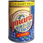 Wymans Canned Wild Blueberries in Wat...