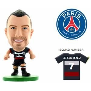 SoccerStarz Paris St Germain FC Jeremy Menez Home Kit [UK IMPORT]