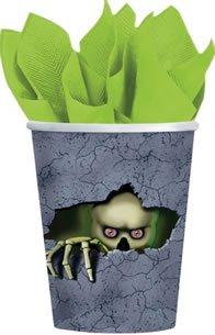 Cemetery Terror 9oz Paper Cups