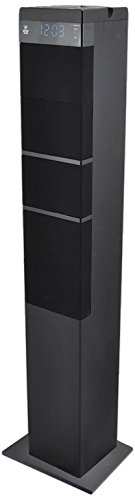 Best Price Pyle PHITB65BK Bluetooth Sound Tower Speaker System with USB Reader 3.5mm AUX, RCA Inputs...