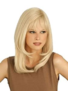 Louis Ferre - Platinum PC 106 - Monotop Human Hair Wig - Hand Tied - Petite/Average - Wheat Blond