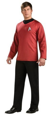 Rubie's Costume Star Trek Grand Heritage Scotty Shirt With Emblem, Red/Black, X-large Costume