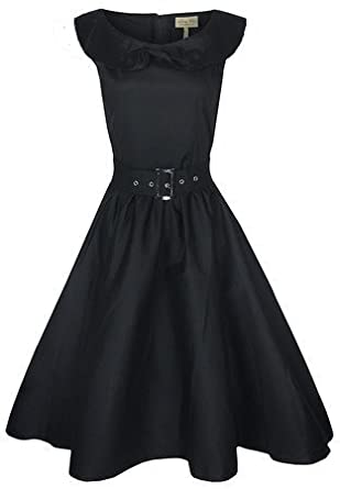 Shawl Collar Audrey Hepburn Dress