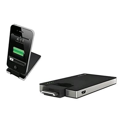 Mophie Juice Pack Universal Boost Quick Charge 2000 mAh external battery charger for iPhone 3G/3GS and 4 - AT&T and Verizon, iPod - 1G, 2G, 3G, 4G, and all 30-pin Apple devices by Mophie