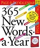 img - for 365 New Words-a-Year Calendar 2006 book / textbook / text book