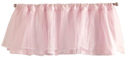 Pink Tulle Window Valance