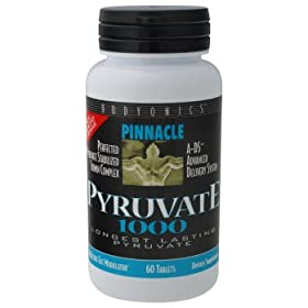 Pinnacle &#8211; Pyruvate, 1000 mg, 60 tablets