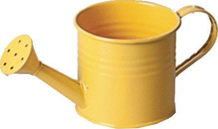 SIENA GARDEN Metallgießkanne gelb 7cm 7,2x7x7cm