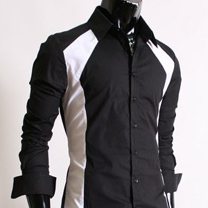 New Attractive Mens SKB Casual Slim fit Dress Shirts Small