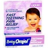 Baby Orajel Teething Pain Relief Medicine Liquid With Berry Flavor - 0.45 oz