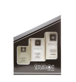 Swisa Beauty Sensation Spa Mens Kit Balm, Serum, Shampoo at Amazon.com