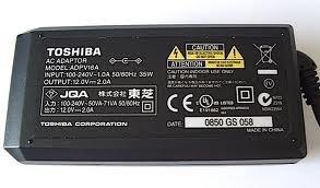 Toshiba ADPV16 Portable DVD OEM Power Supply