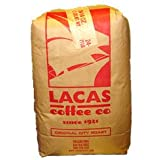 Lacas Colombian Supremo Coffee 5lb Whole Bean Bag
