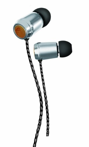 Fischer Audio Silver Bullet In-Ear Headphone with In-Line Multifunction Remote and Microphone