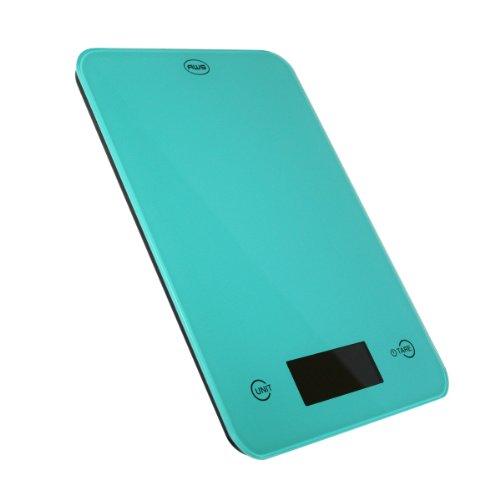 AWS ONYX-5K-TQ 5 kg X 1G Amw verre Balance de cuisine - Turquoise