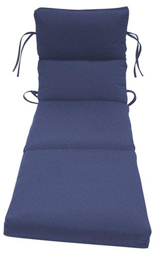 Bahama Solid Navy Cartridge Chaise Cushion - Buy Bahama Solid Navy Cartridge Chaise Cushion - Purchase Bahama Solid Navy Cartridge Chaise Cushion (Arden, Home & Garden,Categories,Patio Lawn & Garden,Patio Furniture,Cushions Covers & Pillows,Patio Furniture Cushions)