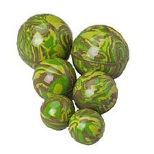 Camo Balls - 45Mm Camouflage Bouncy Balls - Pack Of 12