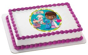 "8"" ~ Doc McStuffins Birthday ~ Edible Image Cake/Cupcake Topper!!! - 1"