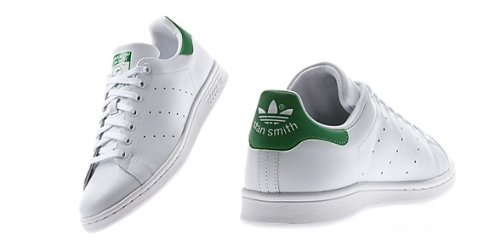 【アディダス】 adidas STAN SMITH スタンスミス (4色) M20324 M20325 M20326 M20327[並行輸入品] (24.5, ホワイトxグリーン)
