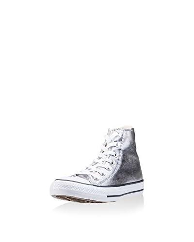 Converse Zapatillas abotinadas Taylor All Star Plateado